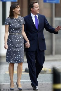 Samantha Cameron m&s dress